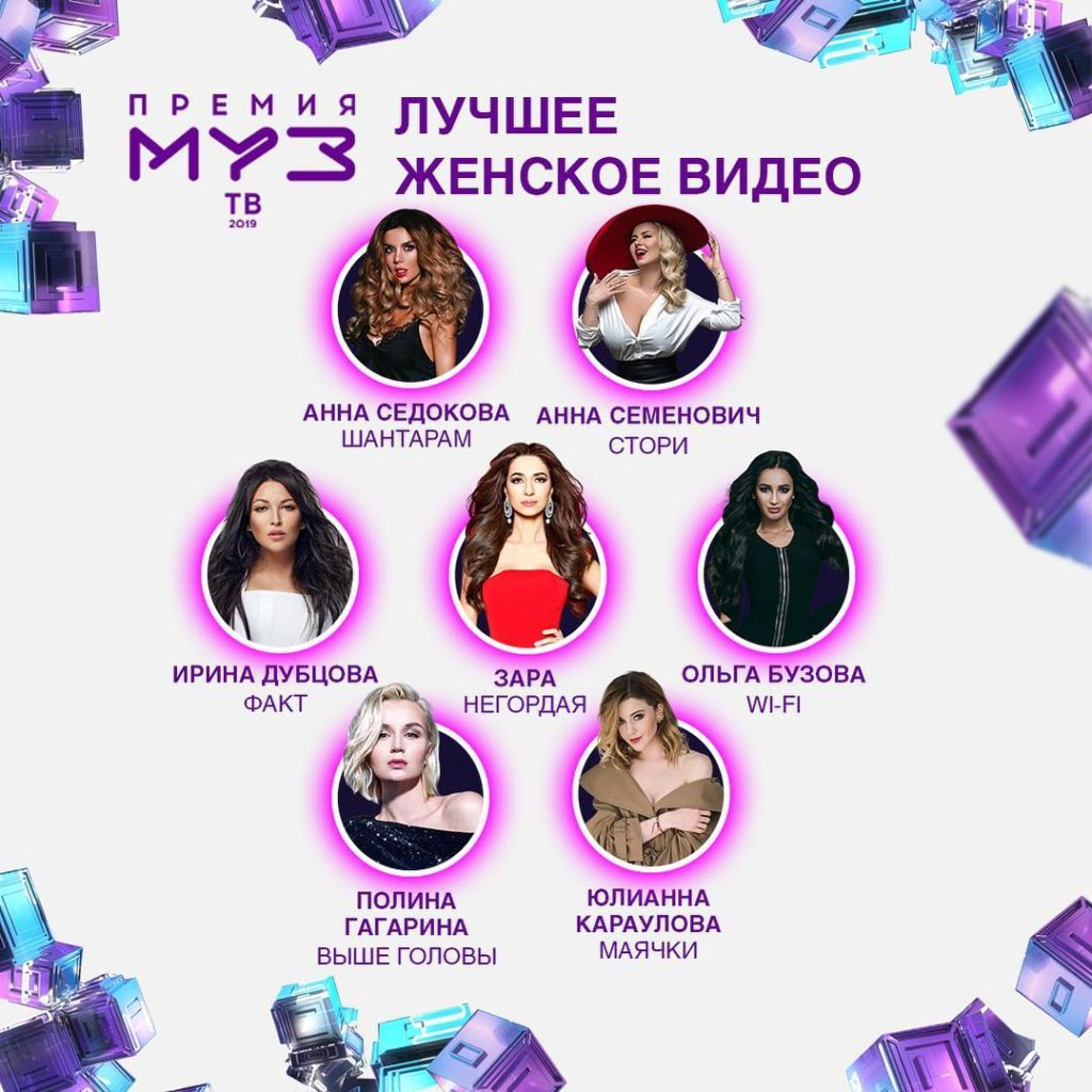 Зара - Премия МУЗ ТВ 2019